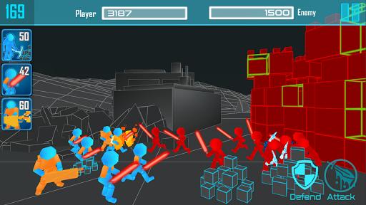 stickman: Guerre de néon  captures d'écran 1