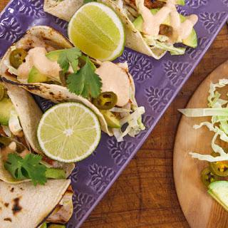 Chipotle Fish Tacos.