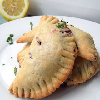 Blueberry Lemon Basil Hand Pies.