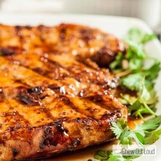 Honey Mustard Grilled Pork Chops.