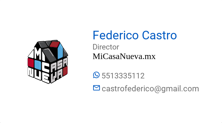 BusinessCard of Federico Castro