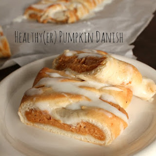 Healthy(er) Pumpkin Danish