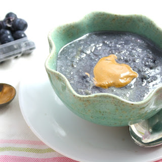"""Blueberry Stuffed Low Carb """"Cocomeal"""""""