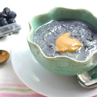 "Blueberry Stuffed Low Carb ""Cocomeal""."