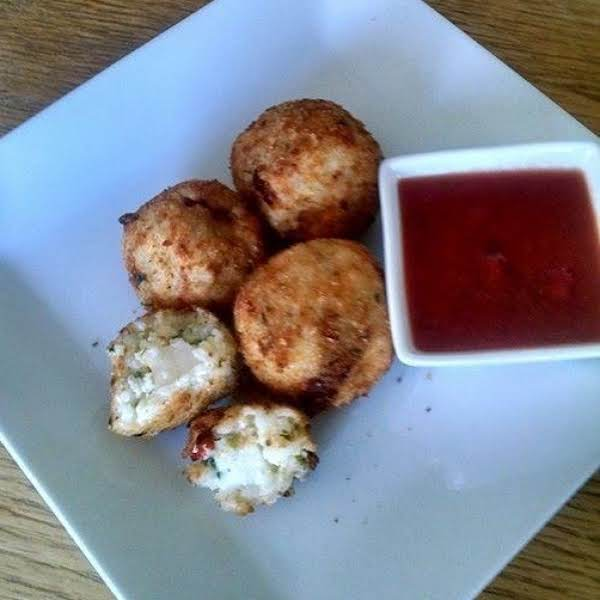 Rice Balls With Marinara Recipe