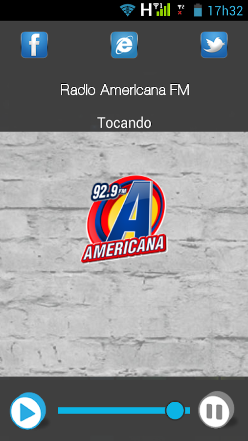 Rádio Americana FM- screenshot