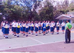 Photo: Latihan Baris berbaris