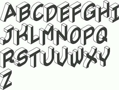 Kaligrafi Huruf A Z Nusagates