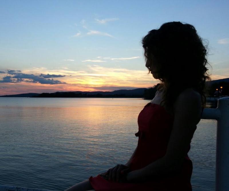 Tramonto sul lago di Steven_Hope
