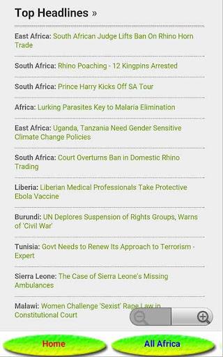 TANZANIA NEWS ONLINE 8.0 screenshots 3