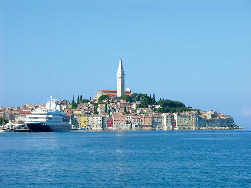 "Seadream-Ravinj.jpg - Ravinj, Croatia, known as ""Little Venice,"" is one of the lovely ports of call on a SeaDream cruise."