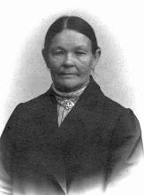 Photo: Maria (Haila) Olsen great grandmother from Kotka, Virolahti, Viipuri, Finland