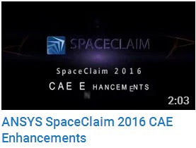 ANSYS SpaceClaim 2016 CAE Enhancements