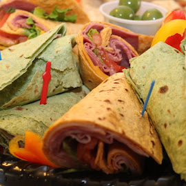 Sandwich Wraps by Rohan Jackson - Food & Drink Plated Food