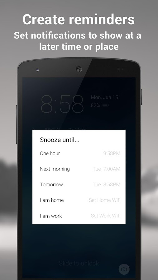 Echo Notification Lockscreen - screenshot
