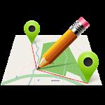 Map Pad GPS Land Surveys & Measurements Icon