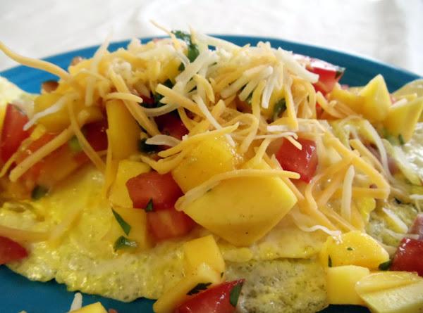 Mango Salsa Omelet Recipe
