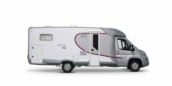 Venta y alquiler de autocaravanas ILUSION IRIUS 740 en Zaragoza y Huesca