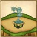 パルメの像