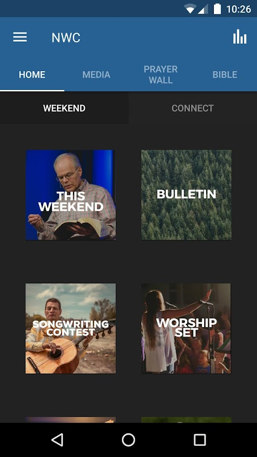 Northwest Foursquare Church- screenshot