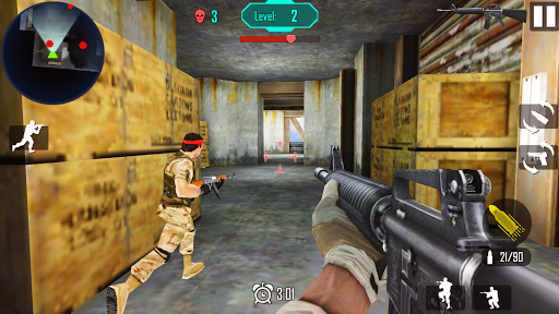 Télécharger Guerre Gun Shoot mod apk screenshots 4
