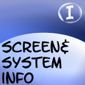 Screen and System Info icon