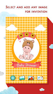 Baby Shower Invitation Card Maker 1