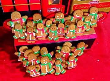 Gingerbread Man Biscuits