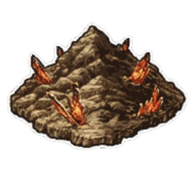 神の空岩跡 悪魔の縄張り
