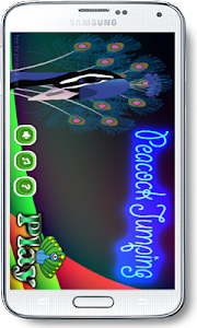Peacock Jumping screenshot 0