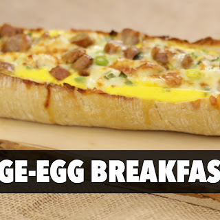 Delectable Sausage Egg Boats