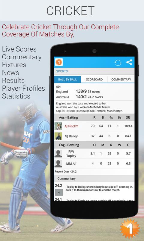 Screenshots of Oneindia News for iPhone