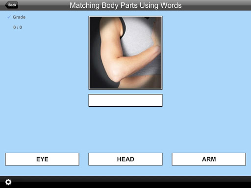 Matching Body Parts Words Lite 2.0 screenshots 3