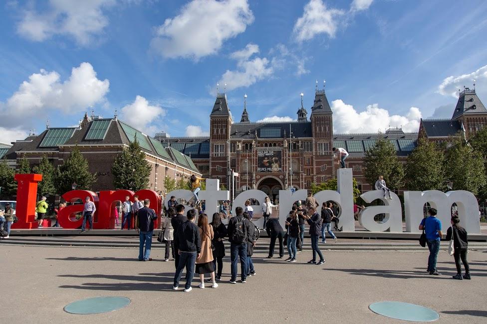 I amsterdam, Museumplein