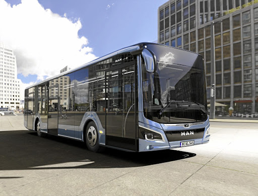 The bus features revised styling and the latest technology. Drivers will find an optimised space with a focus on ergonomics and comfort. Picture: QUICKPIC