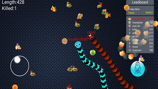 Snake Worms Pro Offline Zone apkmind screenshots 4