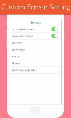 i Call HD Full Screen Caller ID Screenshot