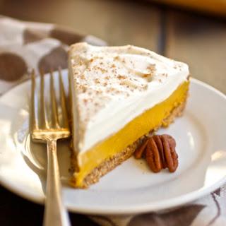 (Gluten-Free!) Pumpkin Cream Tart