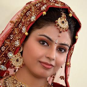 Indian Bride by KP Singh - People Portraits of Women ( wedding, indian, marriage, bride, ludhiana )