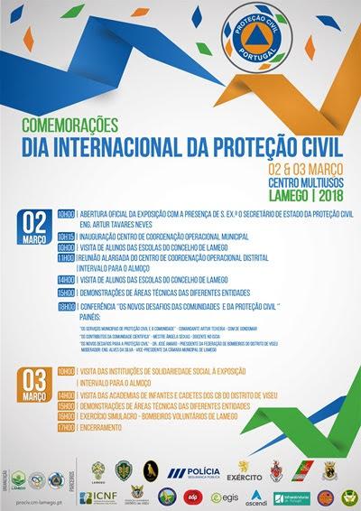 Governo assinala em Lamego Dia da Proteção Civil
