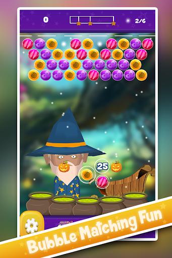 Halloween Bubble Wizard Quest