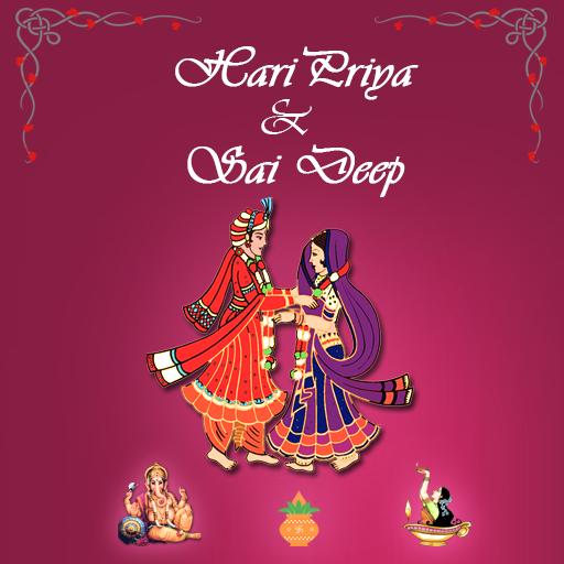 Haripriya weds Saideep 遊戲 App LOGO-硬是要APP