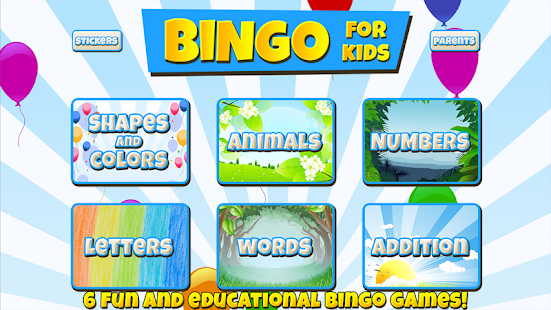 Bingo for Kids- screenshot thumbnail