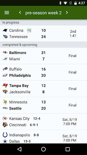 Sports Alerts - NFL edition 2.7.1 screenshots 3