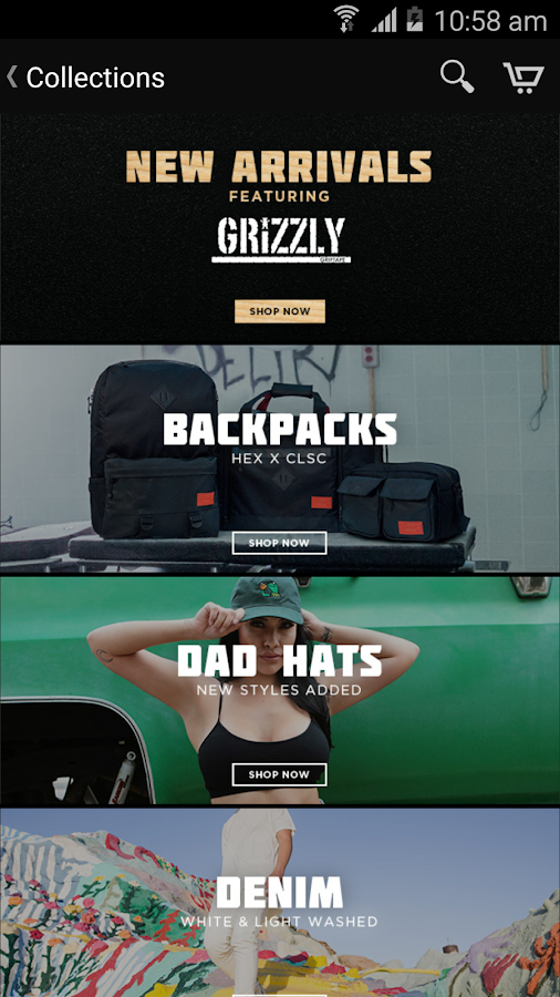 Karmaloop- screenshot