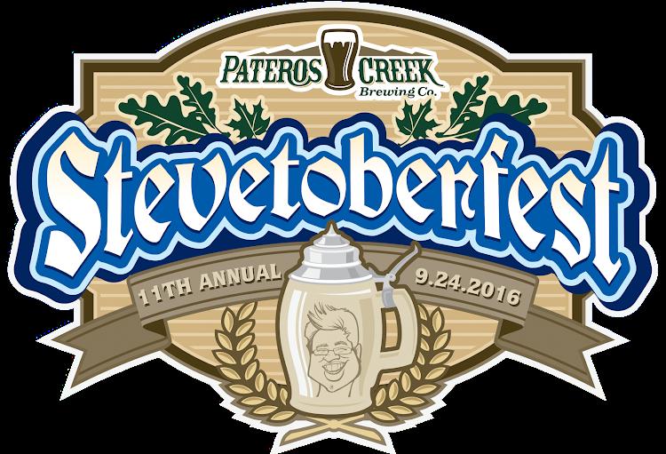 Logo of Pateros Creek Stevetoberfest