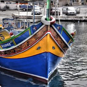 malta boat by Betty Taylor - Transportation Boats ( boats, boats boating,  )