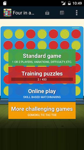免費下載棋類遊戲APP|Four in a Row Puzzles app開箱文|APP開箱王