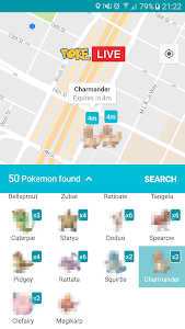 Poke LIVE for Pokemon GO v1.0