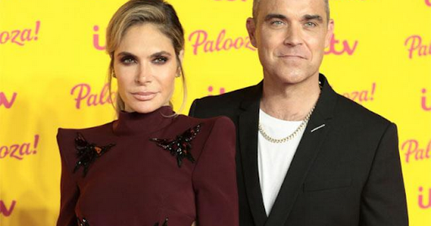 Robbie Williams and Ayda Field aspire to be the glam Richard and Judy